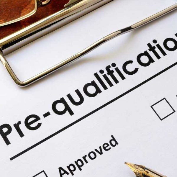 Prequalification or Preapproval Letter