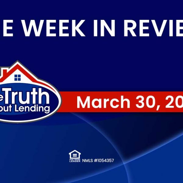 In Review: Week of March 30th, 2020