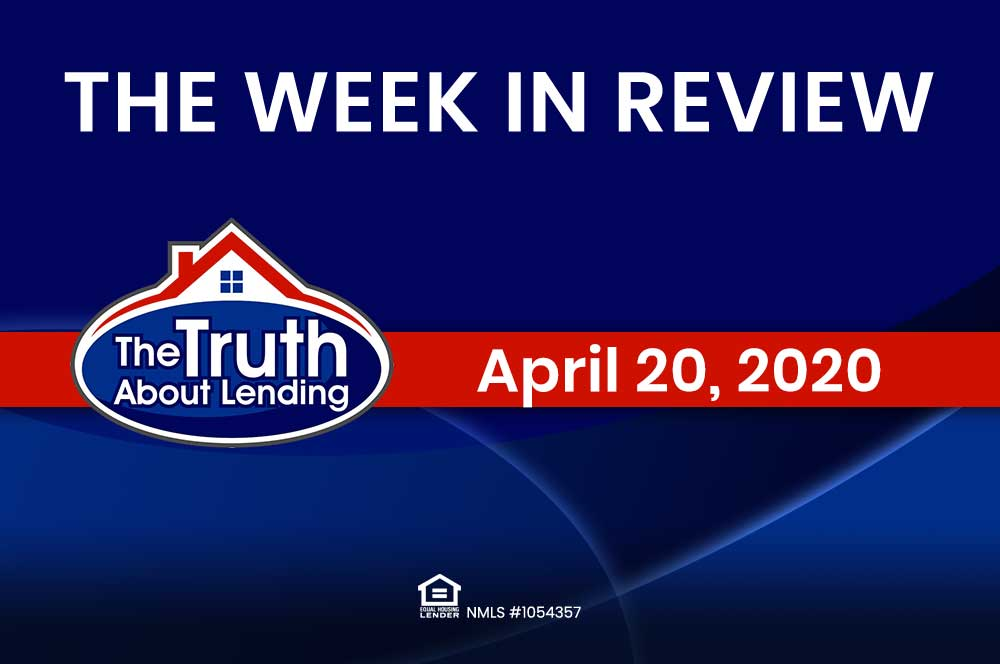 In Review: Week of April 20th, 2020