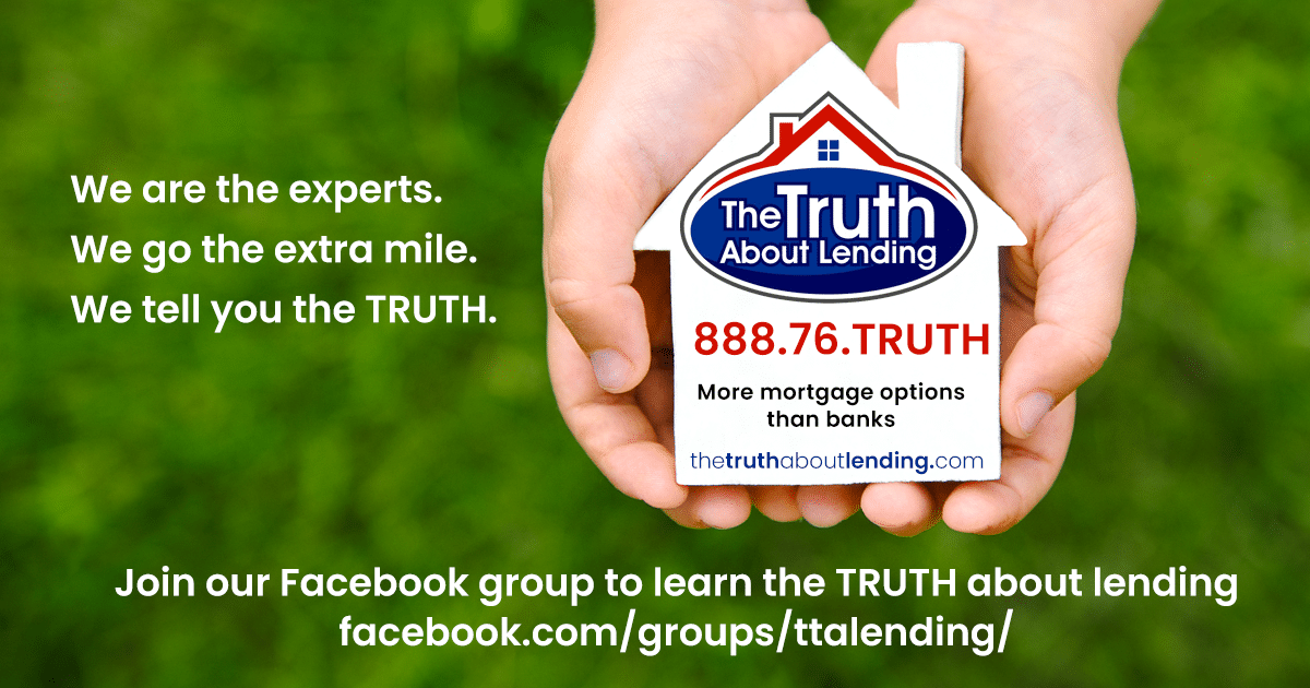 The Truth About Lending - Join our Facebook Group